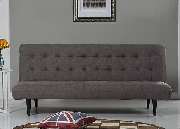 Express Grant 3 Seat Sofabed   Dark Grey