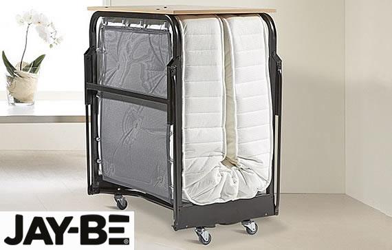 jay be crown premier j tex sprung single folding bed. Black Bedroom Furniture Sets. Home Design Ideas