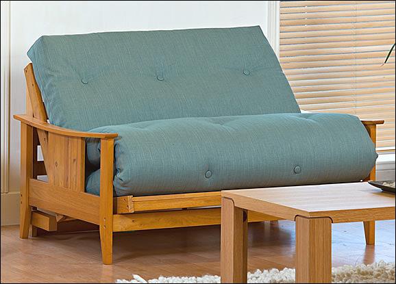 Beau Atlanta   2 Seat Futon Sofa Bed