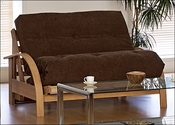 New York 2 Seat Futon Sofa Bed - Futon Sofa Beds Direct Ltd